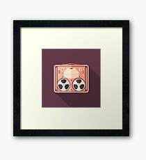 Portable Reel Tape Recorder Framed Print