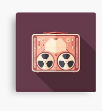 Portable Reel Tape Recorder Canvas Print