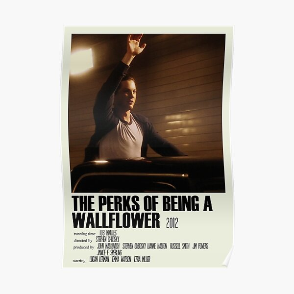 The Perks of Being a Wallflower Alternative Poster Art Movie Large (3) Poster