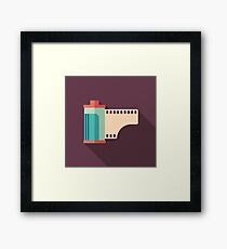 Camera Roll Framed Print