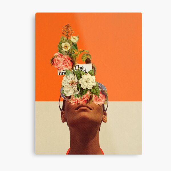 The Unexpected Metal Print