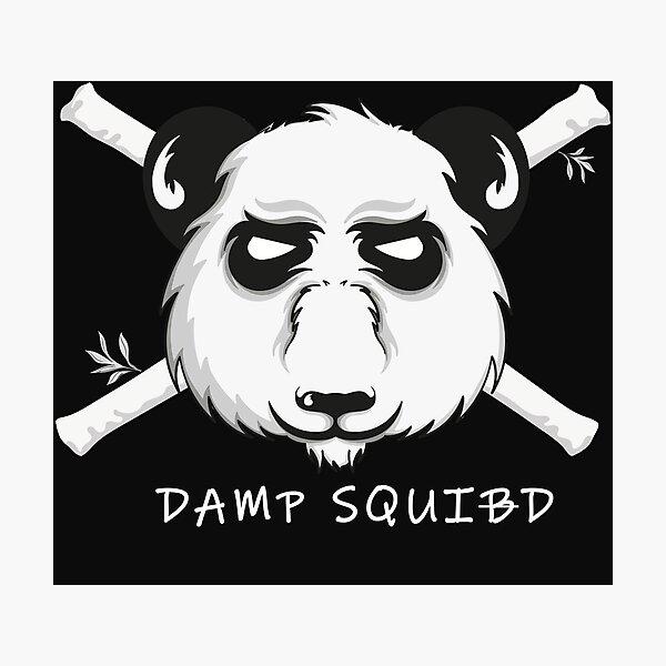 Damp Squid Photographic Print
