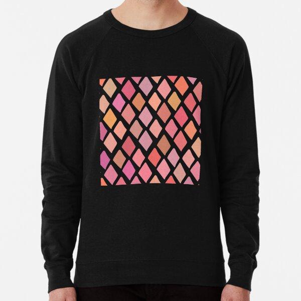 Multi squares  Lightweight Sweatshirt