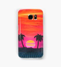 Retro sunset 2 Samsung Galaxy Case/Skin