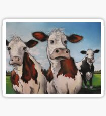 Til the cows come home.... Sticker