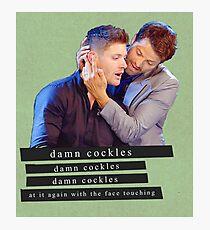 Damn Cockles Photographic Print