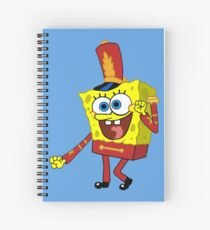 That's His Eager Face - Spongebob Spiral Notebook