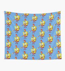 That's His Eager Face - Spongebob Wall Tapestry