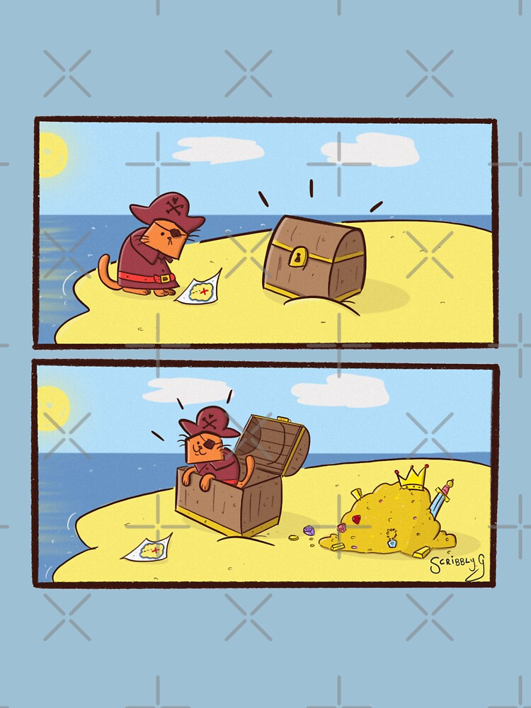 Scribbly G Pirate Kitty Comic by Scribblyg