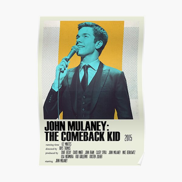 John Mulaney: The Comeback Kid Alternative Poster Art Movie Large (1) Poster