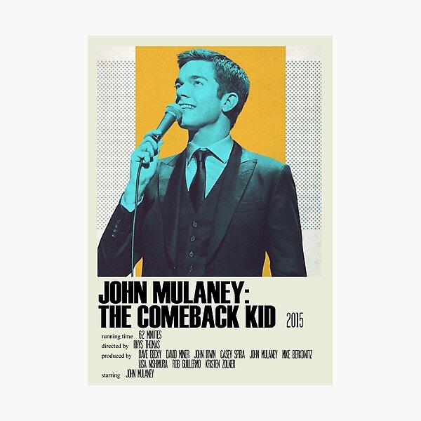 John Mulaney: The Comeback Kid Alternative Poster Art Movie Large (1) Photographic Print