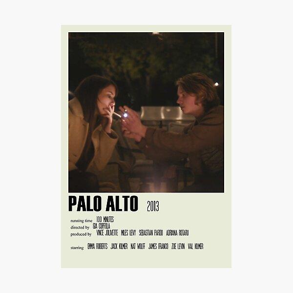 Palo Alto Alternative Poster Art Movie Large (3) Photographic Print