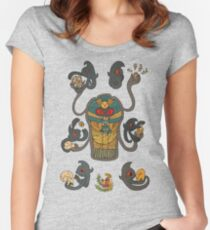 Cofagrigus & Yamask Fitted Scoop T-Shirt