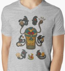 Cofagrigus & Yamask V-Neck T-Shirt