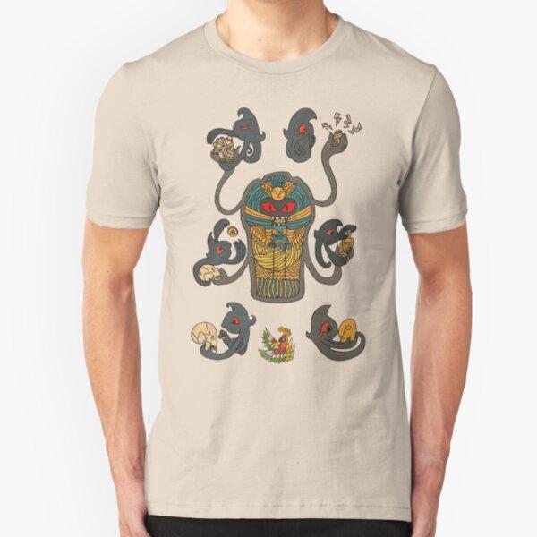 Cofagrigus & Yamask Slim Fit T-Shirt