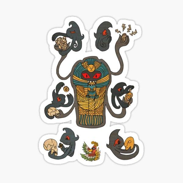 Cofagrigus & Yamask Sticker