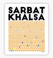 Sarbat Khalsa: Grand Gathering of Sikhs Sticker