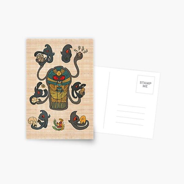 Cofagrigus & Yamask Postcard