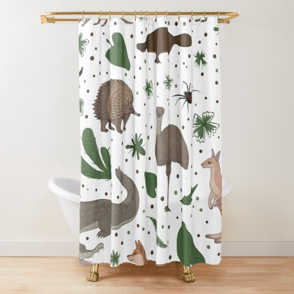 Australian Animals Art Shower Curtain