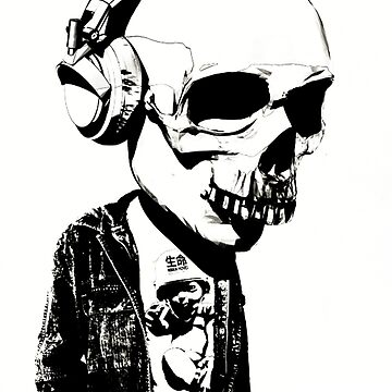 HIPSTERSKULL by lisasteven