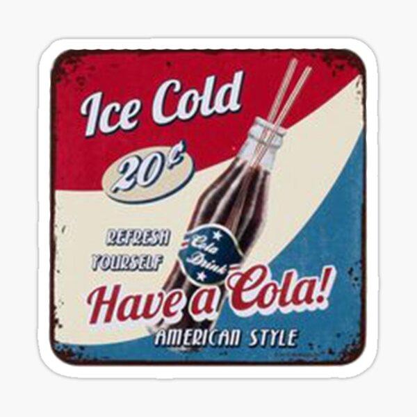 Vintage Arabic Pepsi Cola White Plastic cooler bag 80s