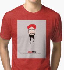 Sikh Men: Making you feel Normal Tri-blend T-Shirt