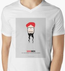 Sikh Men: Making you feel Normal Men's V-Neck T-Shirt