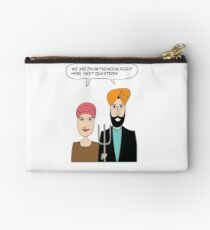 American Gothic: We are from right here. Studio Pouch