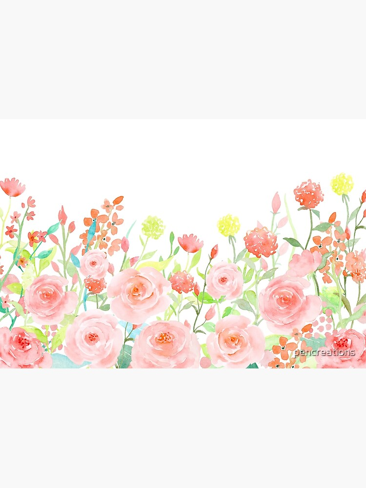 Watercolor Roses by pencreations