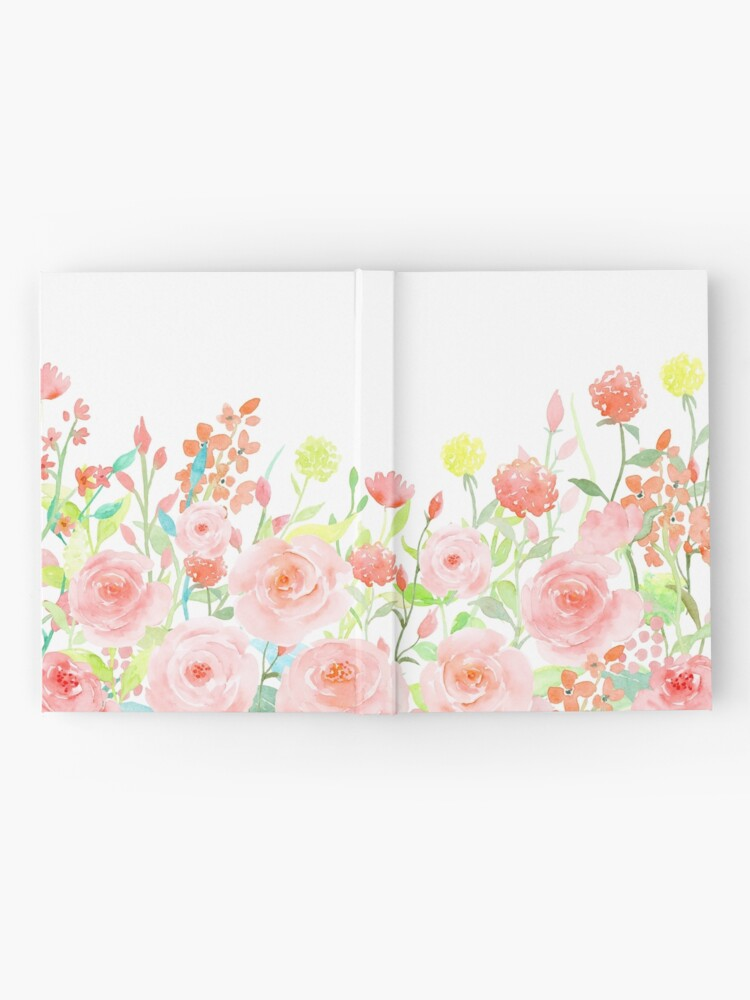 Alternate view of Watercolor Roses Hardcover Journal