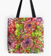 Berries & Proteas Tote Bag
