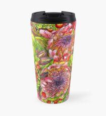 Berries & Proteas Travel Mug