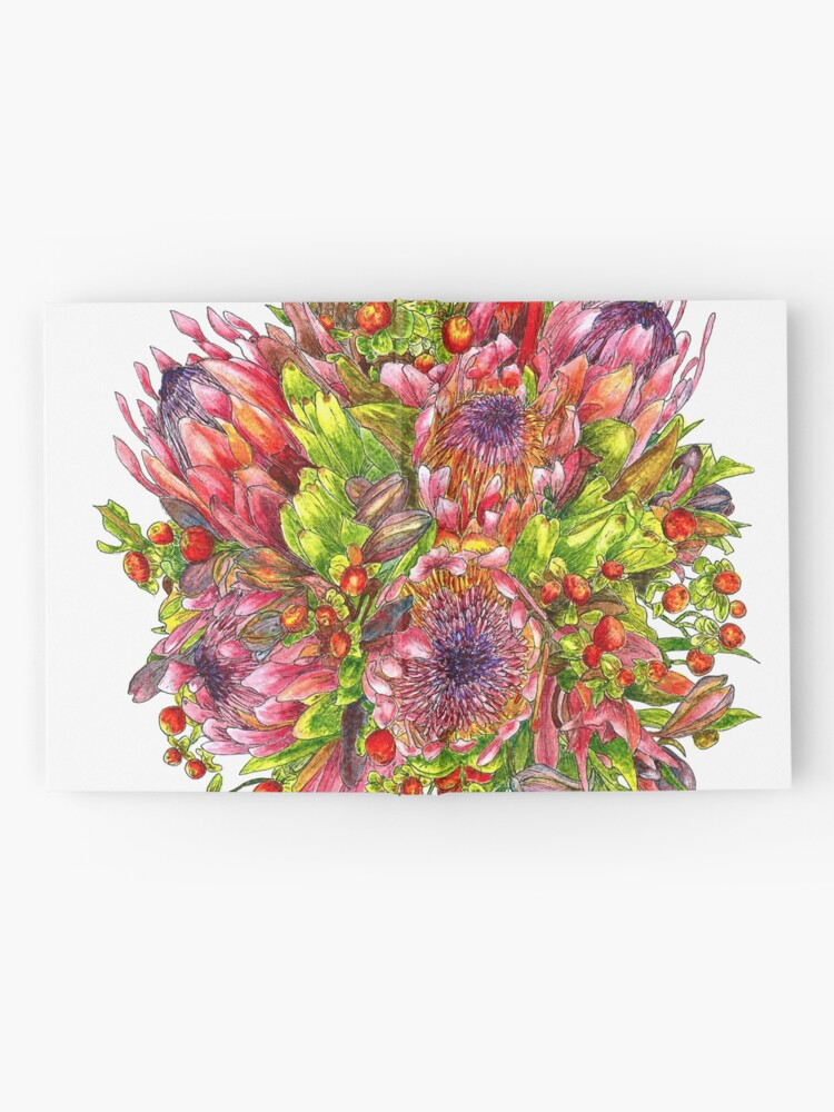 Alternate view of Berries & Proteas Hardcover Journal