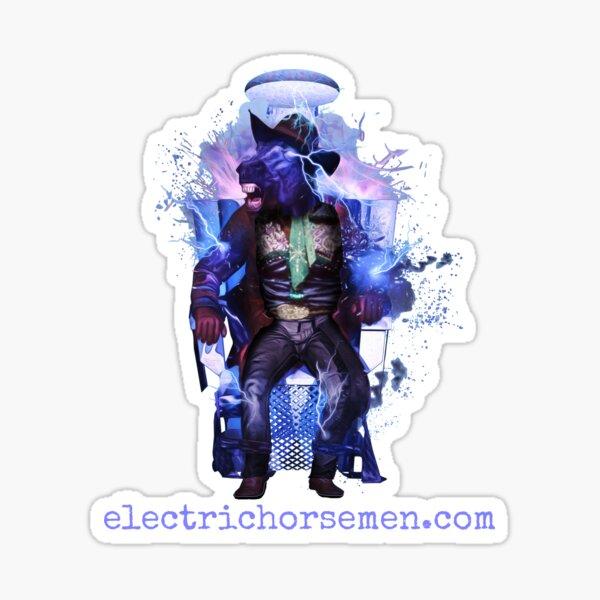 Electric Horsemen - Electrocuted Horseman Sticker