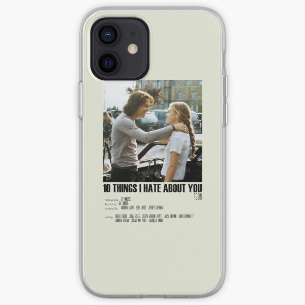 10 Things I Hate About You Alternative Poster Art Movie Large (8) iPhone Soft Case