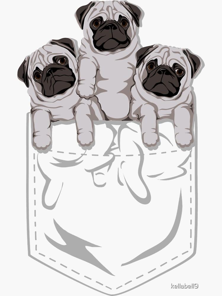 Pocket Pug de kellabell9
