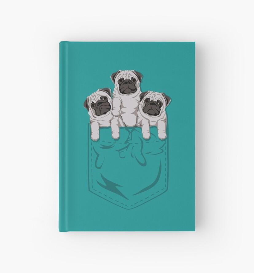 «Pocket Pug» de kellabell9