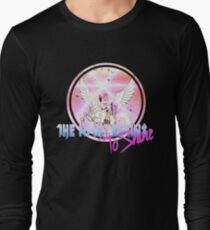 Cyborg -Night begins to Shine Long Sleeve T-Shirt