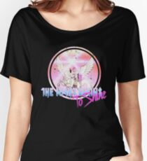 Cyborg -Night begins to Shine Women's Relaxed Fit T-Shirt