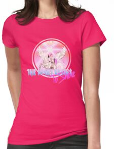 Cyborg -Night begins to Shine Womens Fitted T-Shirt
