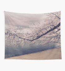 Cherry Blossom Branch  Wall Tapestry
