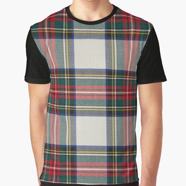 Stewart Dress Scottish Tartan Graphic T-Shirt