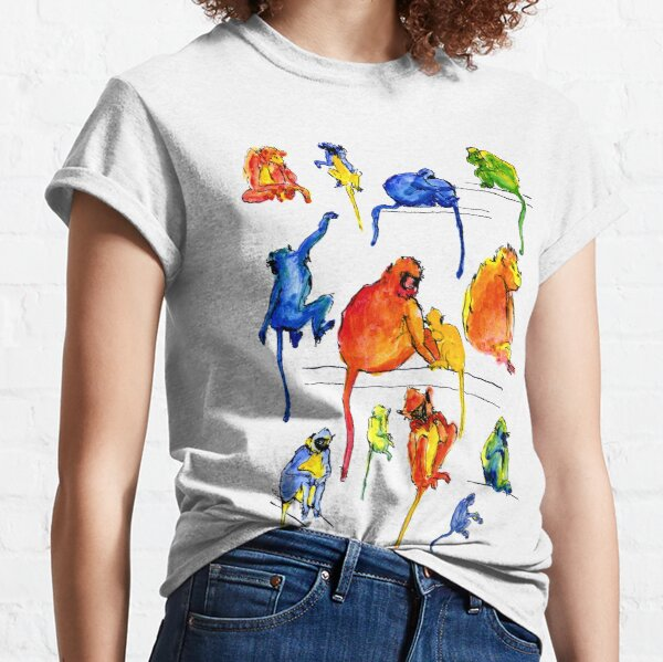 Monkey Troupe Classic T-Shirt