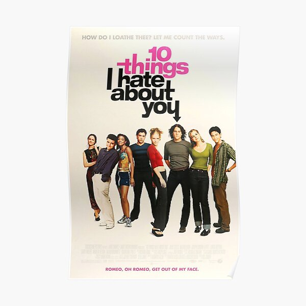 10 things I hate about you Poster Poster