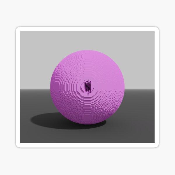 PINK BALL 1 Sticker