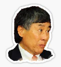 Pegatina Presidente de la UMD, Wallace Loh