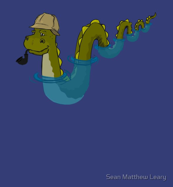 Sherloch Ness Monster by Sean Matthew Leary