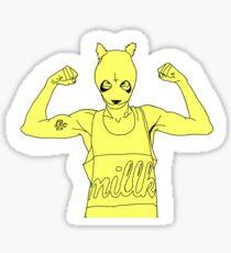 Cro Yellow Sticker