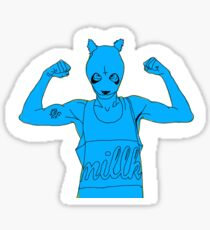Cro Blue Sticker