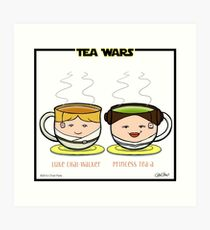 Tea Wars Art Print